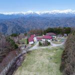 空から見た聖山高原チャペル